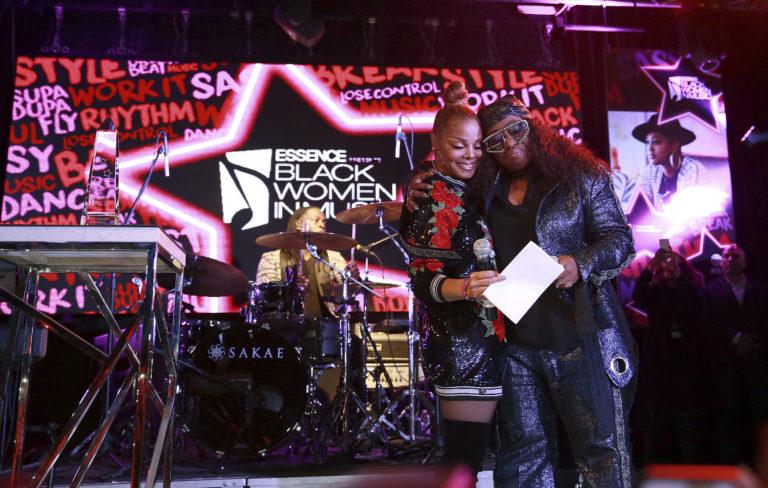 Janet Jackson surprises Missy Elliott with Essence honour