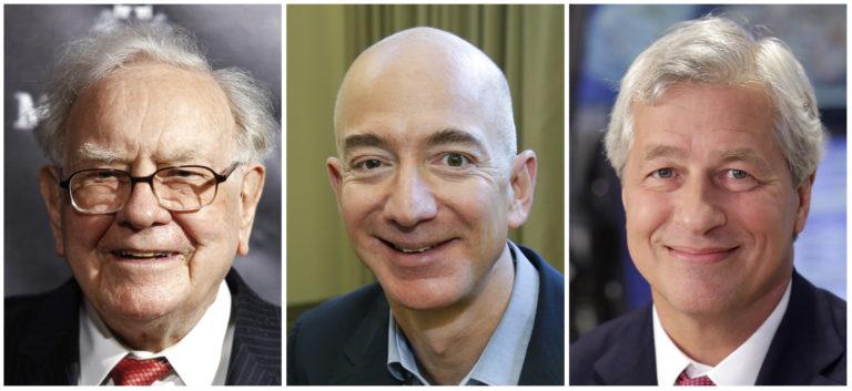 Amazon, JPMorgan, Berkshire creating new health care company