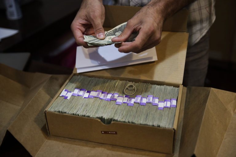 A taxpayer backed bank for pot money? Maybe in California.