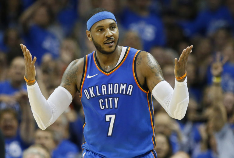 Melo 'done' with refs after Westbrook ejected