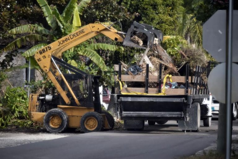 Estimated 13,000 cubic yards of debris removed during first two days of cleanup campaign