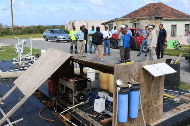 Ragged Islanders welcome reverse osmosis desalination plant