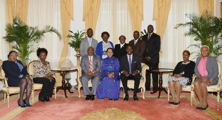 Officials of National Congress of Trade Unions pay courtesy call on the Governor General