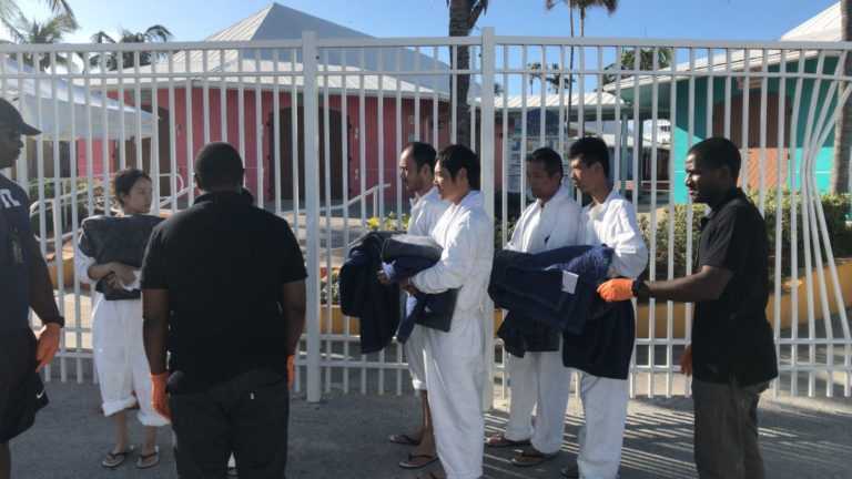 9 Chinese migrants found in Bahamian waters, processed