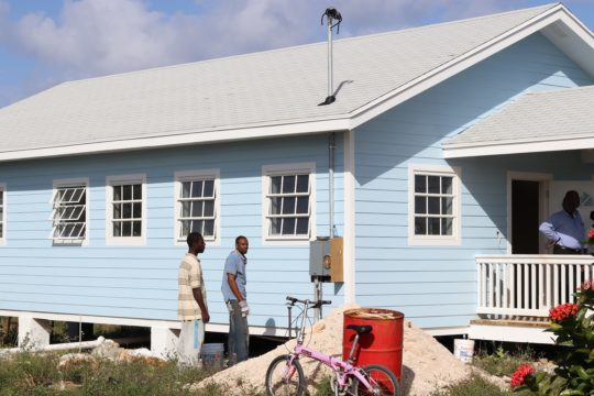 Joaquin victims gifted with new homes by NEMA