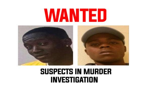 Manhunt for alleged murder suspects