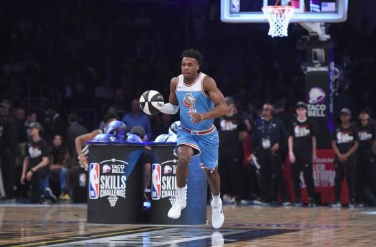 Hield competes in two events at All-Star weekend