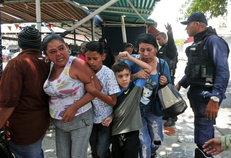 Angry families demand facts on deadly Venezuela jail riot