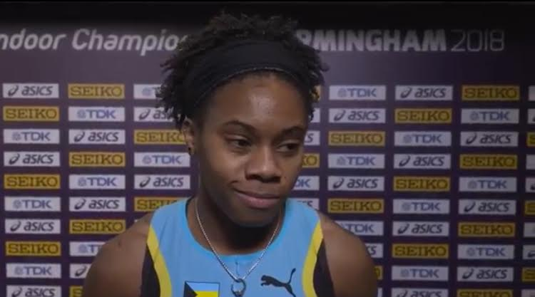 Russell, Charlton get on track at World Indoor Championships