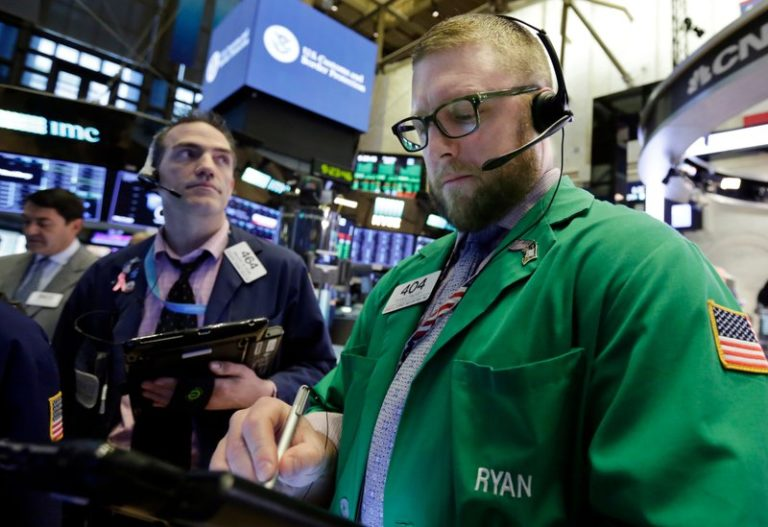 Trade war fears ease and stocks jump; Dow rises 250 points