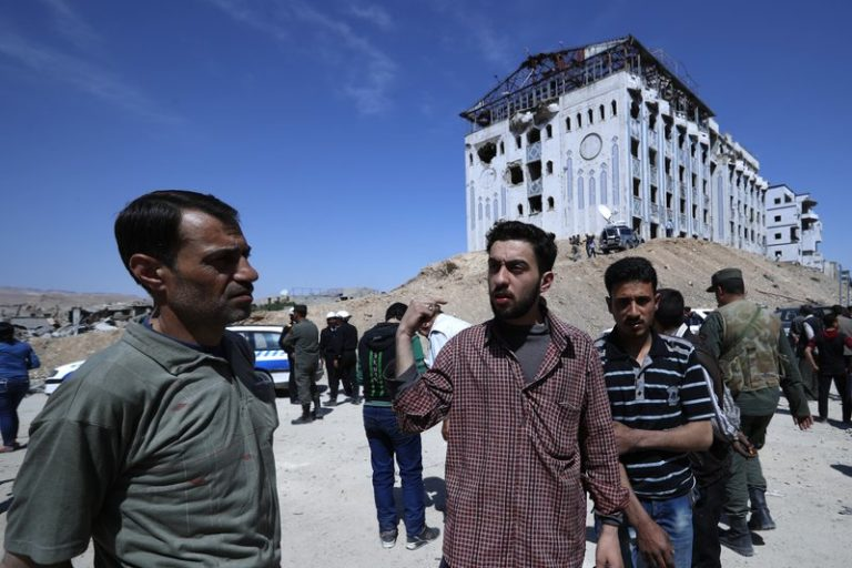 First the chlorine, then chaos and death in Syria attack