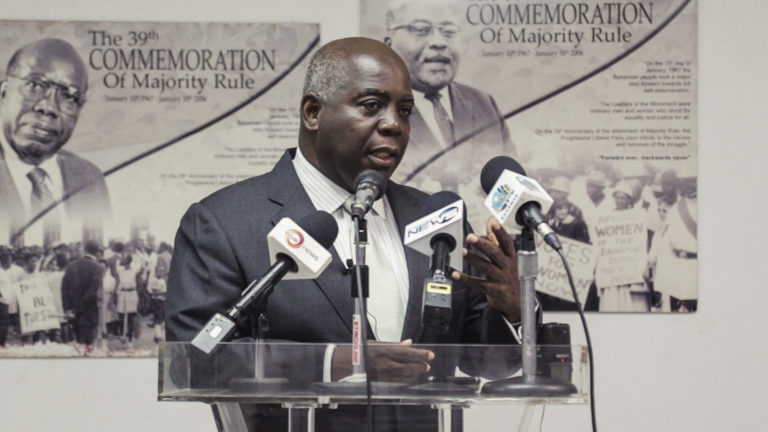 """PM """"deliberately deceiving"""" Bahamians, says Brave"""