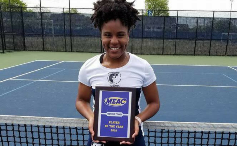 Thompson named MEAC Player of the Year