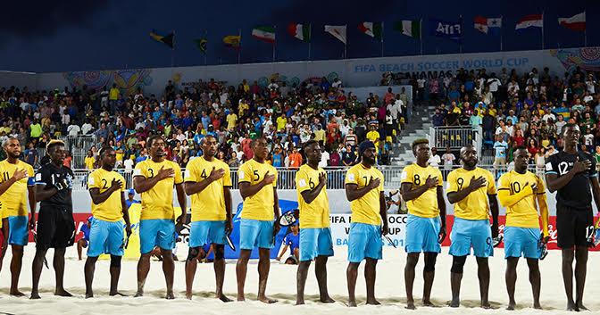 Bahamas falls 5-1 in Beach Soccer Challenge opener