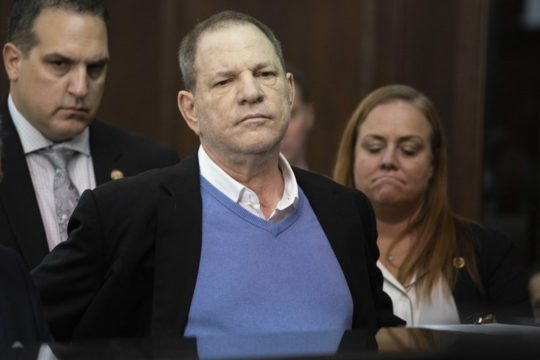 Harvey Weinstein indicted on rape, criminal sex act charges