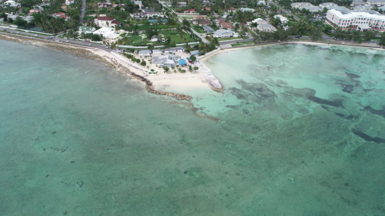 Works near Goodman's Bay have potential impact on sea bed