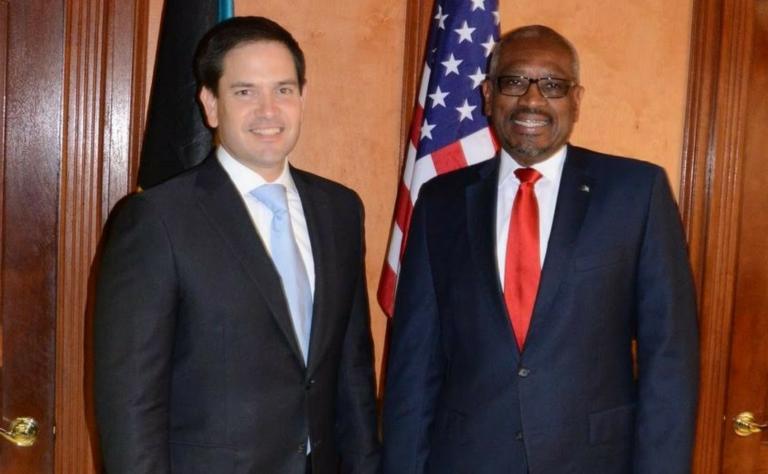 Rubio visits PM