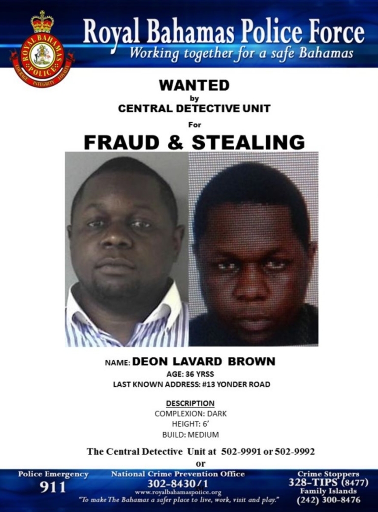Wanted by police