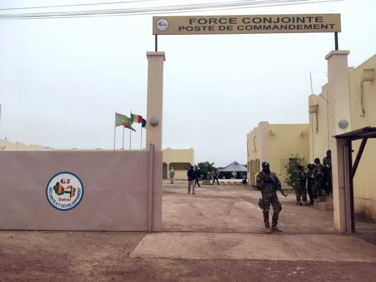 3 killed in attack on West African counterterror force's HQ