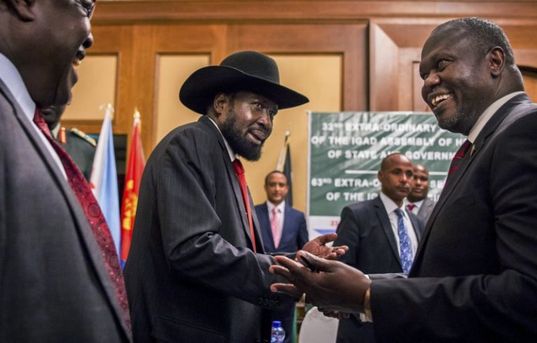 South Sudan's warring sides agree to permanent cease-fire