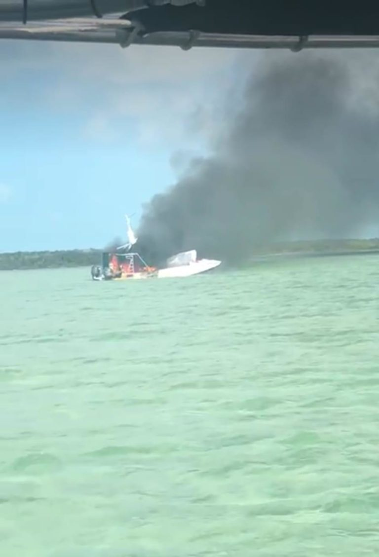 BREAKING: Chartered boat  explodes at sea!