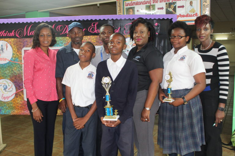 Students awarded for annual math competition