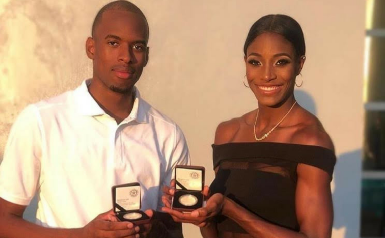 Olympians presented with minted coins