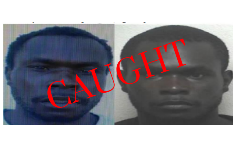 BREAKING: Wanted suspects caught