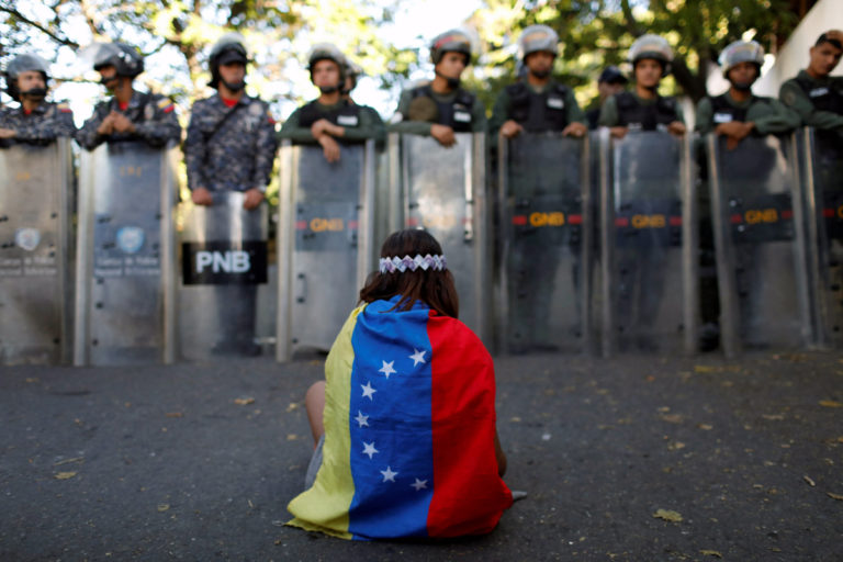 UN: Basic human rights being 'chiseled away' in Venezuela