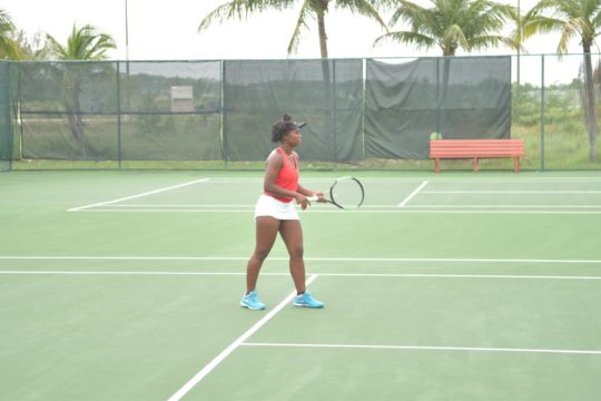 Clarke, Williams fall in doubles action