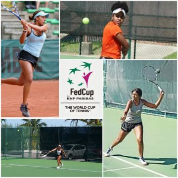 Fed Cup team advances to 2-0