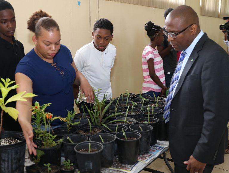 Pintard visits empowerment camp for students