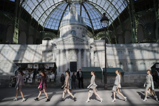 Chanel recreates Paris for couture show celebrating the city