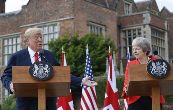 AP Analysis: Trump's barbed comments upset British hosts