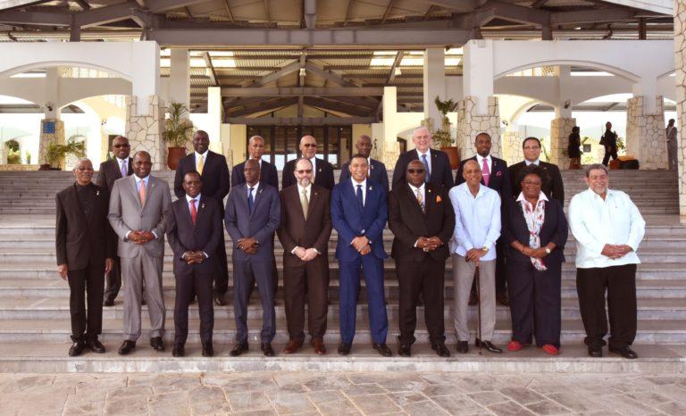 Prime Minister addresses CARICOM on disaster mitigation and management