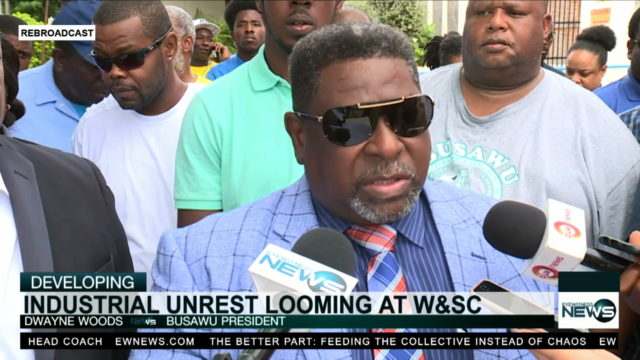 Union unrest over WS&C firings