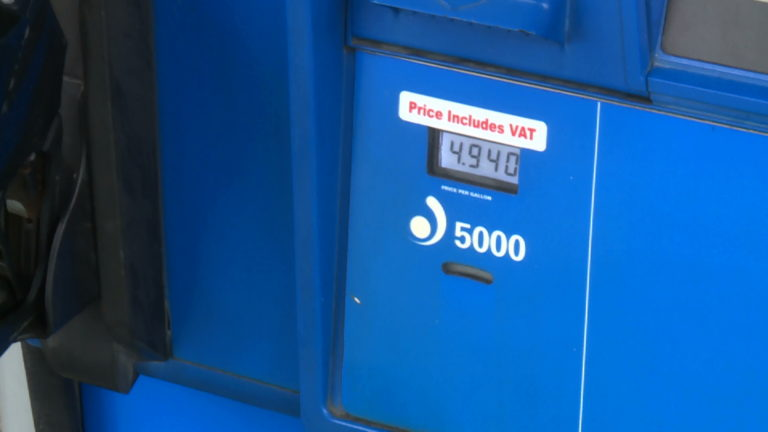 Gas prices set to exceed $5 per gallon