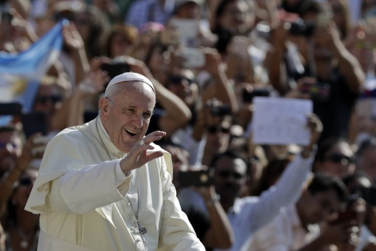 AP: Pope laments abuse in 1st post-bombshell Vatican appearance