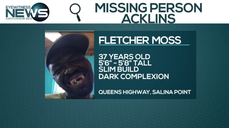 Police search for missing Acklins man