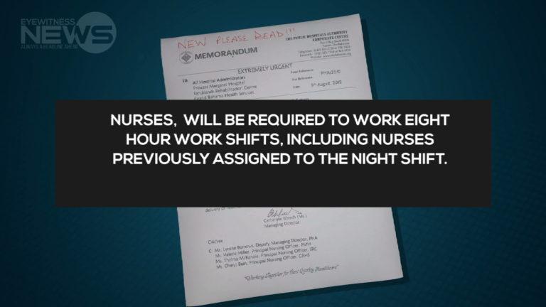 New shifts for nurses to begin September 3