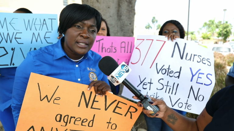 Nurses want owed overtime pay
