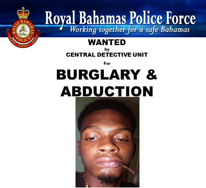 Man wanted for burglary & abduction