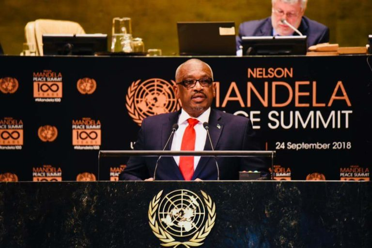 Prime Minister addresses the Nelson Mandela Peace Summit at the UN