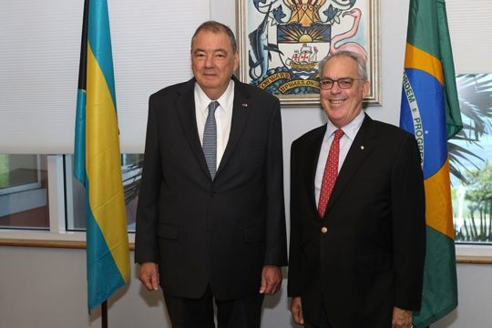 Brazilian Ambassador bids farewell to the Minister of Foreign Affairs