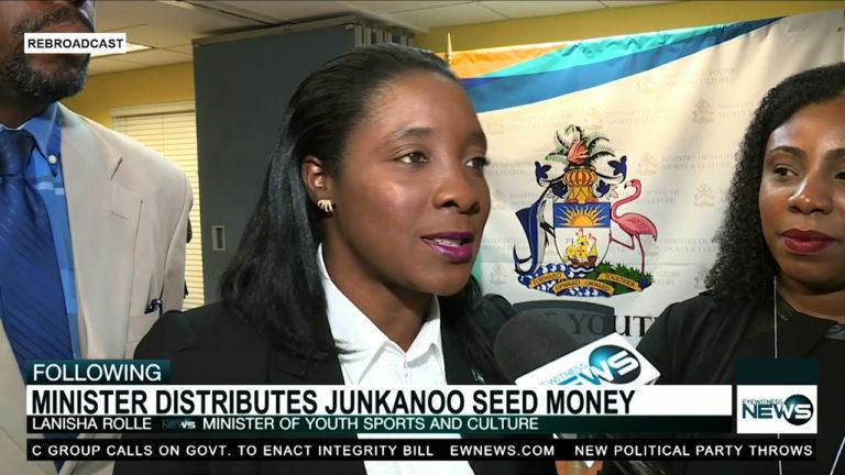Junkanoo seed money distributed