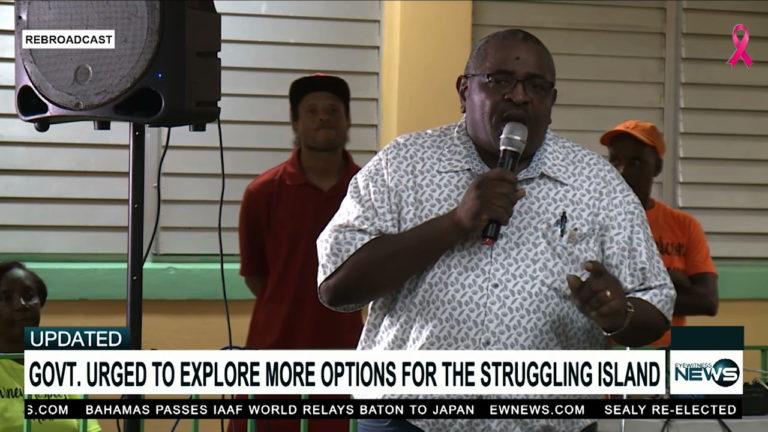 MP pleads for help for Eleuthera