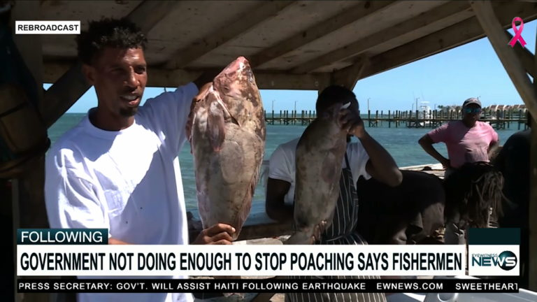 Local fisherman express issues with Dominican poachers