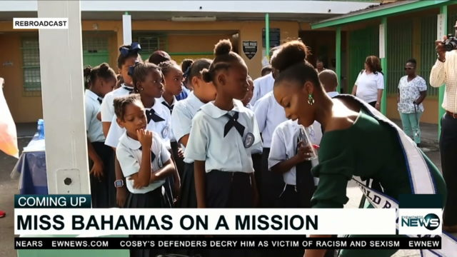 Miss World Bahamas, partners team up to fight childhood obesity