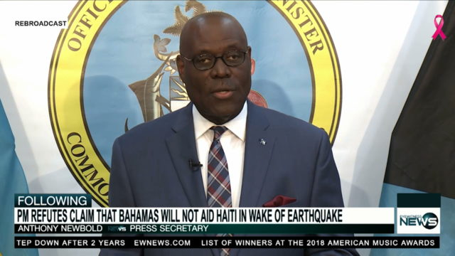 Press Secretary: Gov't. will assist Haiti following earthquake