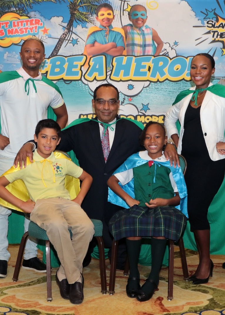 'Be A Hero' campaign launched to make The Bahamas cleaner, safer